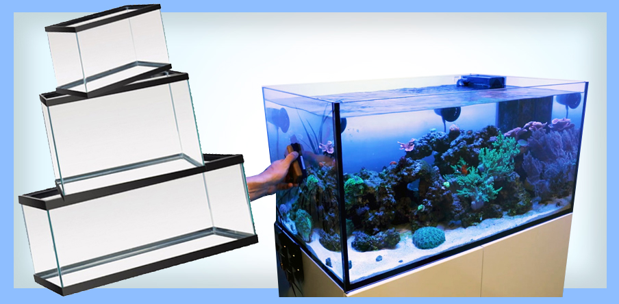 2 to 180 gallons fish tanks