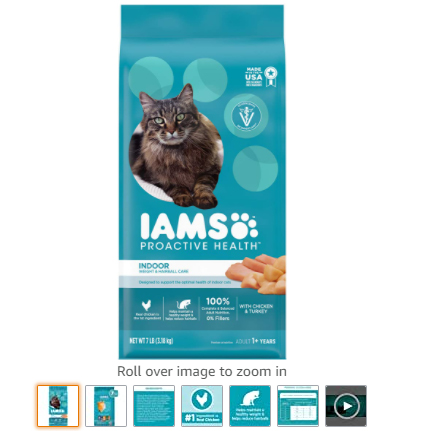 numer-3-Iams-Proactive-Health-Adult-Indoor-Weight-Hairball-Control-Dry-Cat-Food