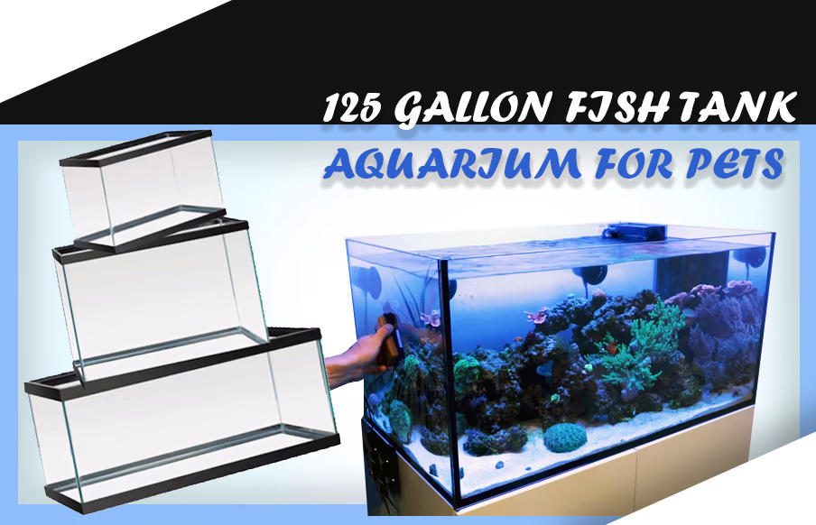 125 GALLON FISH TANK aquarium for pets